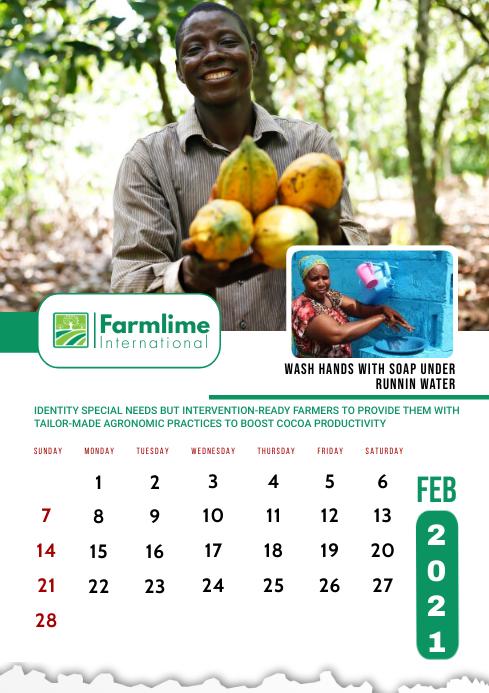 February 2021 Calendar Template A2