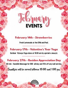 February Events Valentine's