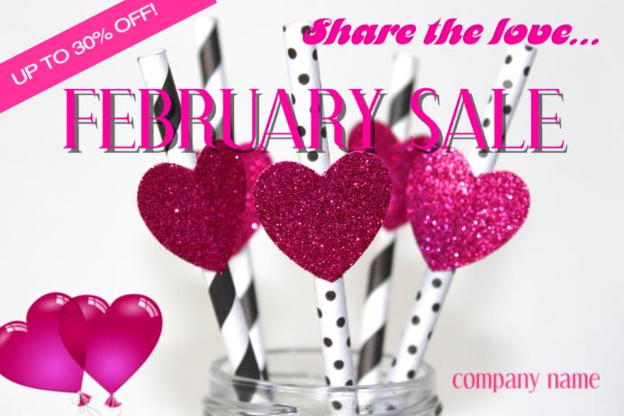 February sale
