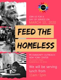 Feed For Homeless Flyer