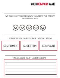 Feedback Form Template