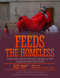 Feeds The Homeless Flyer