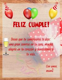 Feliz cumpleaños Template