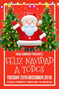Feliz Navidad A Todos Poster