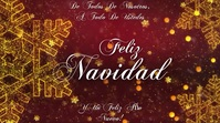 FELIZ NAVIDAD Digital Display (16:9) template