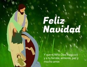 Feliz Navidad Verde