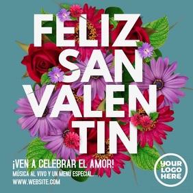 Feliz San Valentín Post Cuadrado