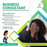 Female Business Consultant Services Instagram
