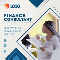 Female Finance Consultant Instagram Video Tem template