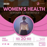 Female Health Conference Advertisement