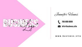 Feminine Business Cards