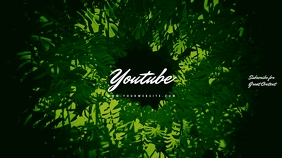 Fern Green Youtube Channel Art Banner template