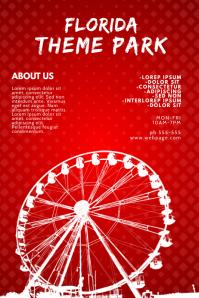 Ferris Wheel Flyer Design Template