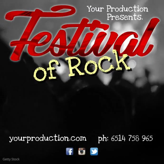 Festival Of Rock Instagram