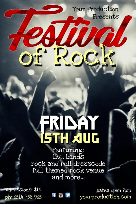 FestivalOf Rock Poster