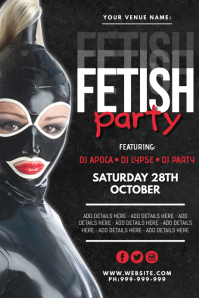 Fetish Party Poster