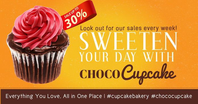 Desserts Facebook Shared Image Template