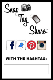 Hashtag Flyer Party