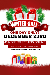 Winter Sales Event Template