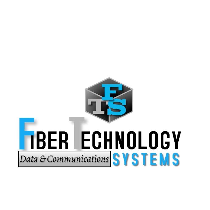 Fiber Technology Logo template