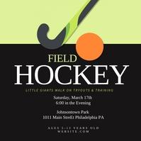 Field Hockey Pos Instagram template