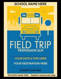 FIELD TRIP Ulotka (US Letter) template