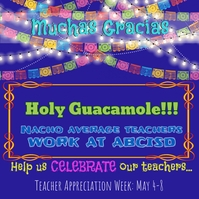 Fiesta Themed Teacher Appreciation
