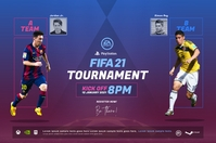 Fifa Video Game Tournament poster 海报 template