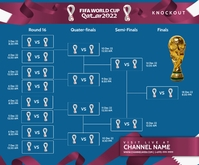 Fifa World Cup Knockouts Template Medium Rectangle