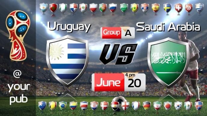 FIFA World Cup Video Pantalla Digital (16:9) template