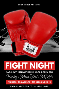 Fight Night Poster