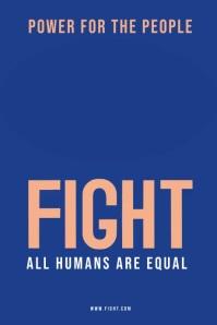 Fight Poster Template โปสเตอร์