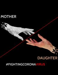 FightCoronavirus Flyer Template