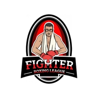 Fighter Boxing Championship League Logo Templ template