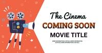 Film and theater, event,coming soon Gambar Bersama Facebook template