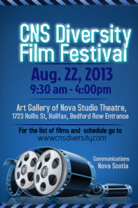 Film Festival Flyer Template