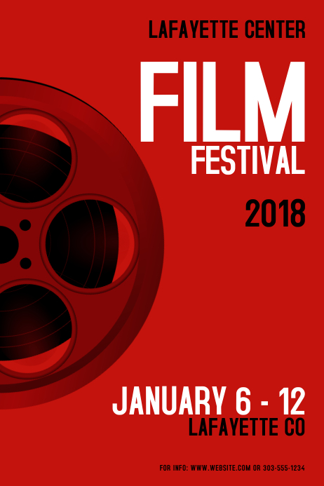 Film Festival Template | PosterMyWall
