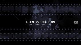 Film Movie Maker Youtube Channel Art Banner template