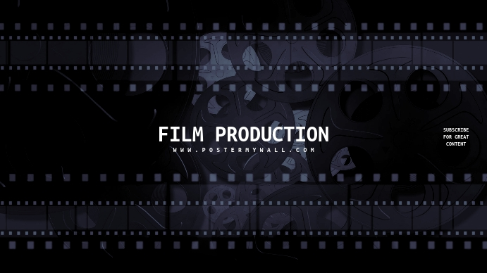 Film Movie Maker Youtube Channel Art Banner