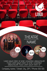 FILM OR THEATRE FLYER TEMPLATE