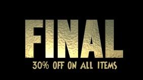Final Sale, Shop Display in Digital