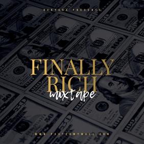 Finally Rich Money Mixtape Cover