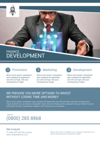 Finance Flyer Template