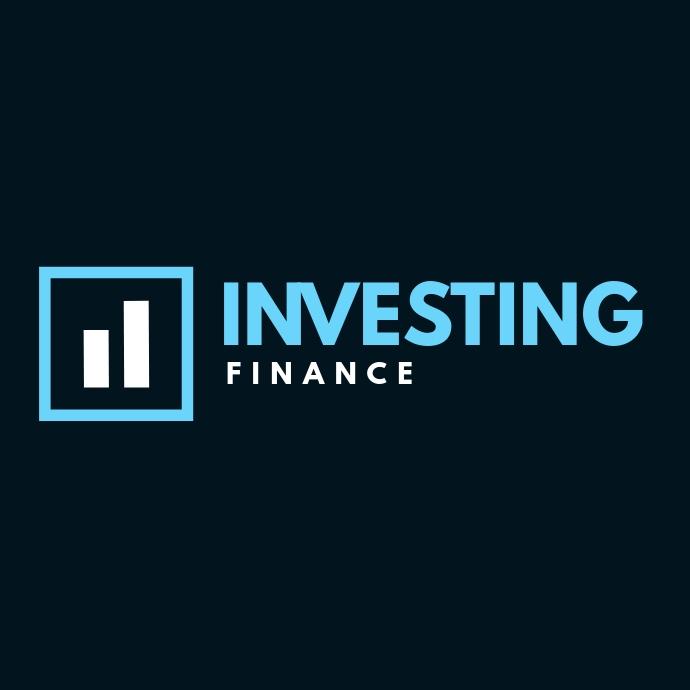 finance investing logo template