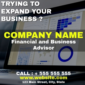 financial and business advisors instagram