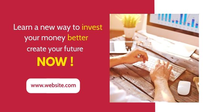 financial corporate professional services fac Imagem partilhada do Facebook template