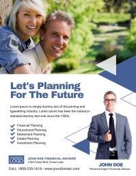 Financial Planning Business Flyer Poster