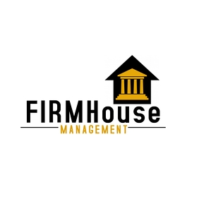 Financial Property Management Logo template