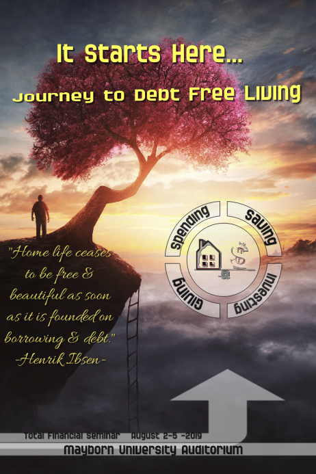 Financial seminar/Debt free/how to save
