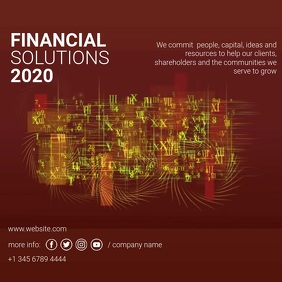 FINANCIAL SOLUTIONS VIDEO TEMPLATE